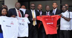 Magu unveils EFCC FC jersey