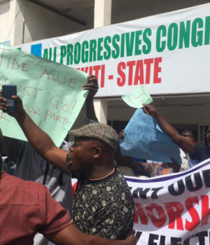 Ekiti APC Secretariat sealed by Police