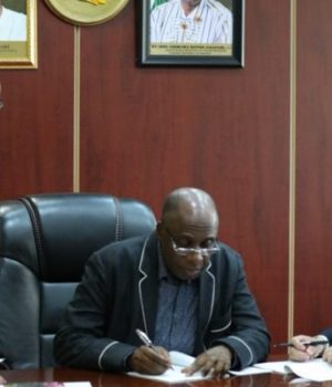 Amaechi signs new rail line contract