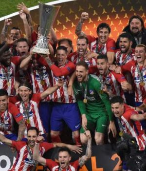The Europa Champion, Atletico Madrid