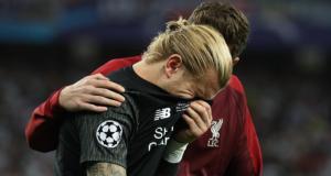 Sobbing Loris Karius, Liverpool Goalkeeper