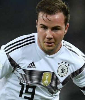 Mario Gotze, out of Germany's World Cup squad