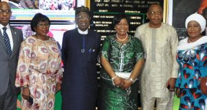 Lai Mohammed and some members of the stakeholders