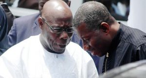 Ex-Presidents Olusegun Obasanjo and Goodluck Jonathan