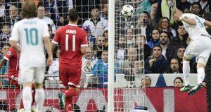 Karim Benzema headed home the winner