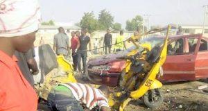 Suicide bombing in Kodunga