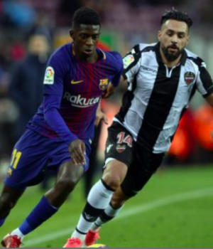 Dembele strikes twice against Villarreal