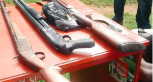 Some of the Illegal guns recovered
