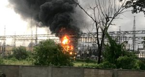 Fire guts Alagbon substation