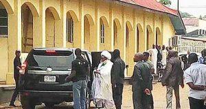 Ibrahim Zakzaky in Kaduna Court