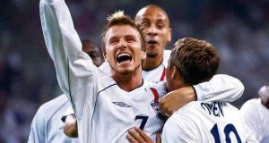 David Beckham went to three World Cups with England and was capped 115 times for his country