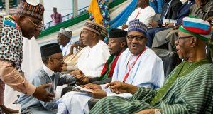 Buhari at APC Convention