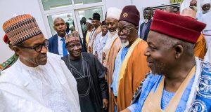Buhari in Jos