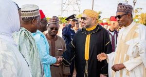 President Buhari and King of Morocco His Majesty Mohammed VI in Morocco