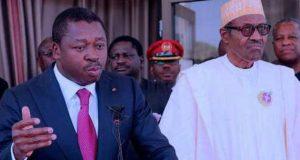 Buhari and Faure Eyadema
