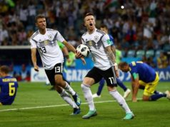 Germany came from behind to defeat Sweden