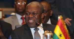 Former Vice President of Ghana Kwesi Amissah-Arthur