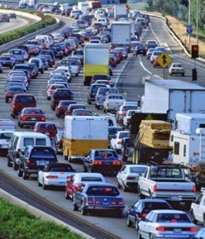 Traffic gridlock