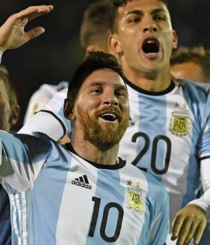 Messi leads Argentina's celebration