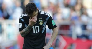 Messi missed penalty against Iceland