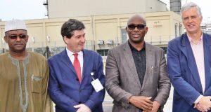 NLNG Deputy Managing Director, Sadeeq Mai-Bornu; Ambassador of Spain, H.E Marcelino Ansorena, and Ambassador of the Netherlands, H.E Robert Petri