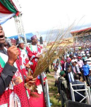 Osinbajo leads Fayemi's campaign in Ekiti