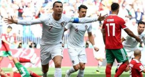Ronaldo heads Morocco out of World Cup