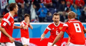 Russian team condemned Sallah's Egypt to early exit