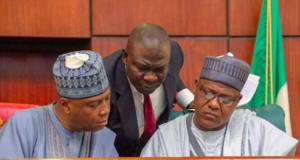 Saraki, Ekweremadu and Yakubu Dogara
