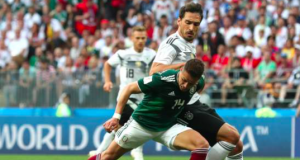 Mexico stun holder Germany
