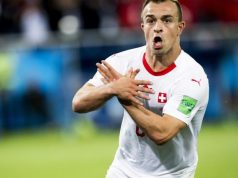 Xherdan Shaqiri's solo effort earn Switzerland victory over Serbia