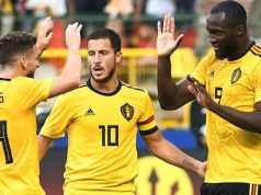 Hazard, Lukaku celebrate Belgium thrashing of Tunisia