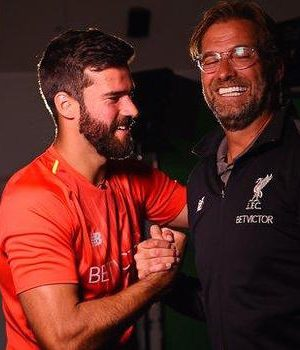 Alisson and Klopp