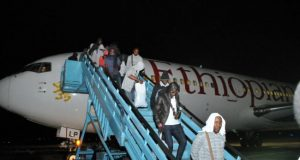 Stranded Nigerians in Russia back home