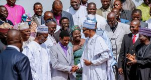 Buhari and CAN Northern leaders