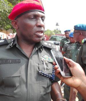Deputy Inspector General of Police(DIG) Operations, Habilal Joshak