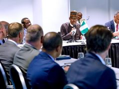 President Buhari with Dutch company CEOs