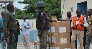 INEC moves election materials from CBN to Ekiti LGAs.