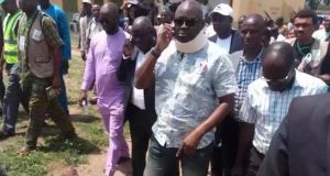 Fayose after casting his vote