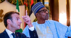 Macron and Buhari