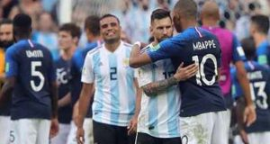 Mbappe and Messi