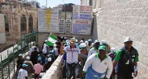 Nigerian Pilgrims-at-Golgotha