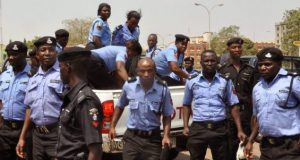 Policemen-in-action