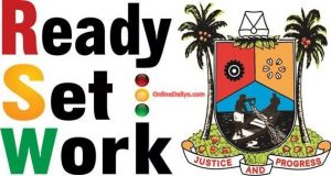 Ready. Set.Work policy of Lagos