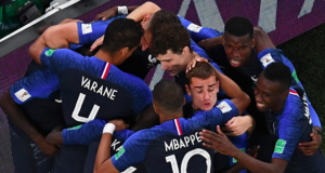 Ecstatic French team jubilate after beaten Belgium
