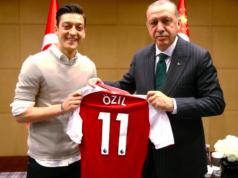 Ozil and President Erdogan of Turkey