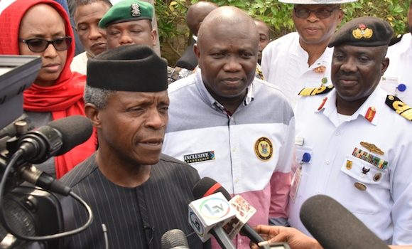 Image result for FG begins reconstruction of Apapa-Oshodi Expressway in 2 weeks – Osinbajo