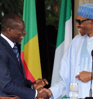 President Patrice Talon of the Republic of Benin and President Buhari