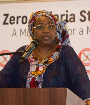 Launch of zero Malaria campaign