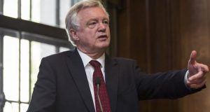 UK Brexit Sec. David Davis quits